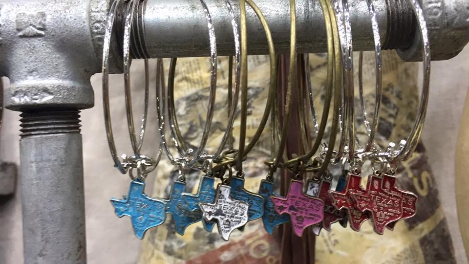 Bronze Texas Charm Bracelet