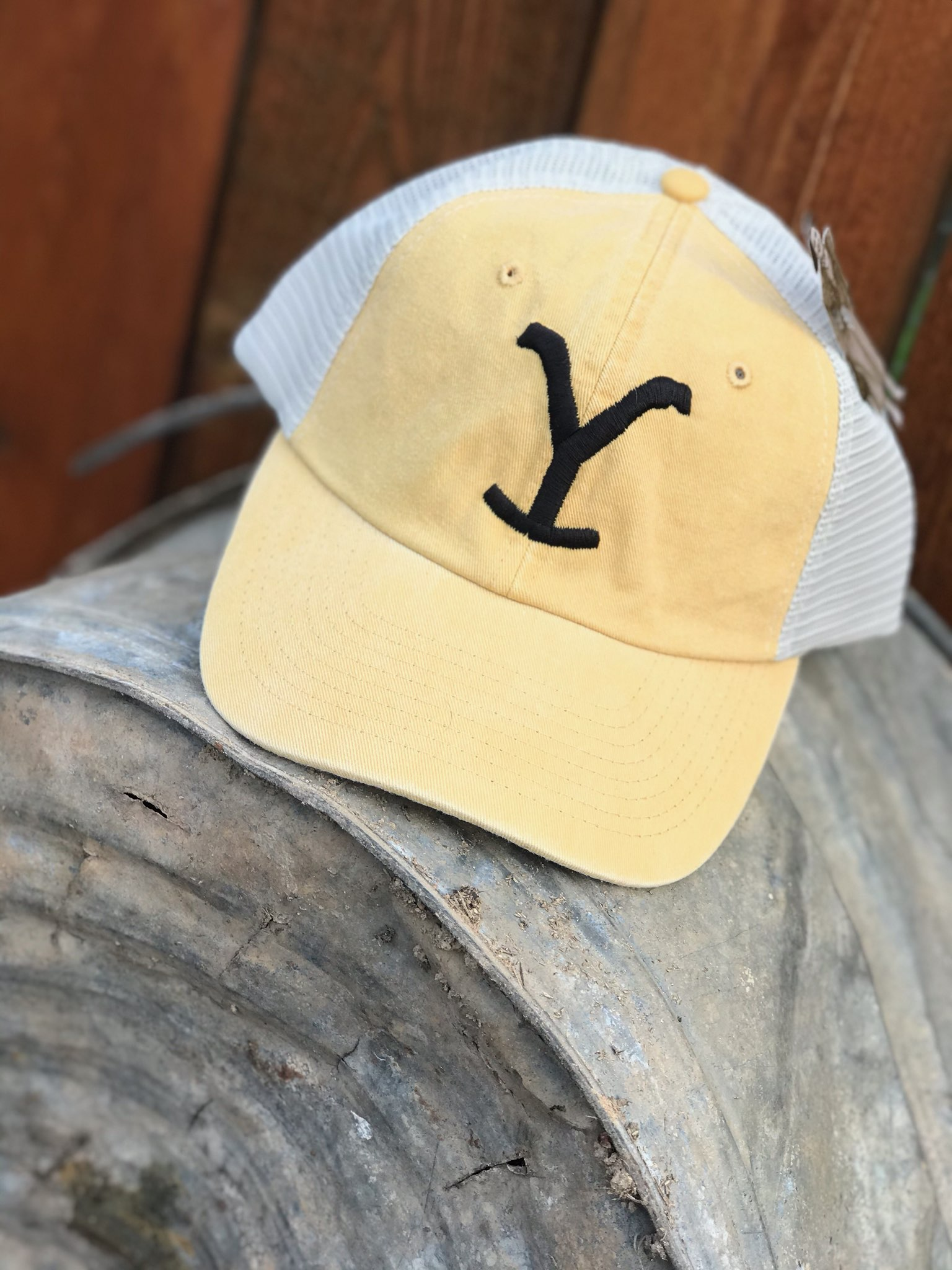 Yellowstone relaxed fit cap