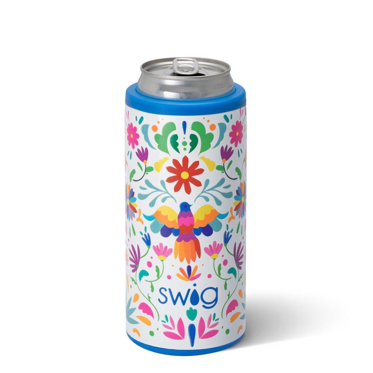 Fiesta Swig Skinny Can Cooler