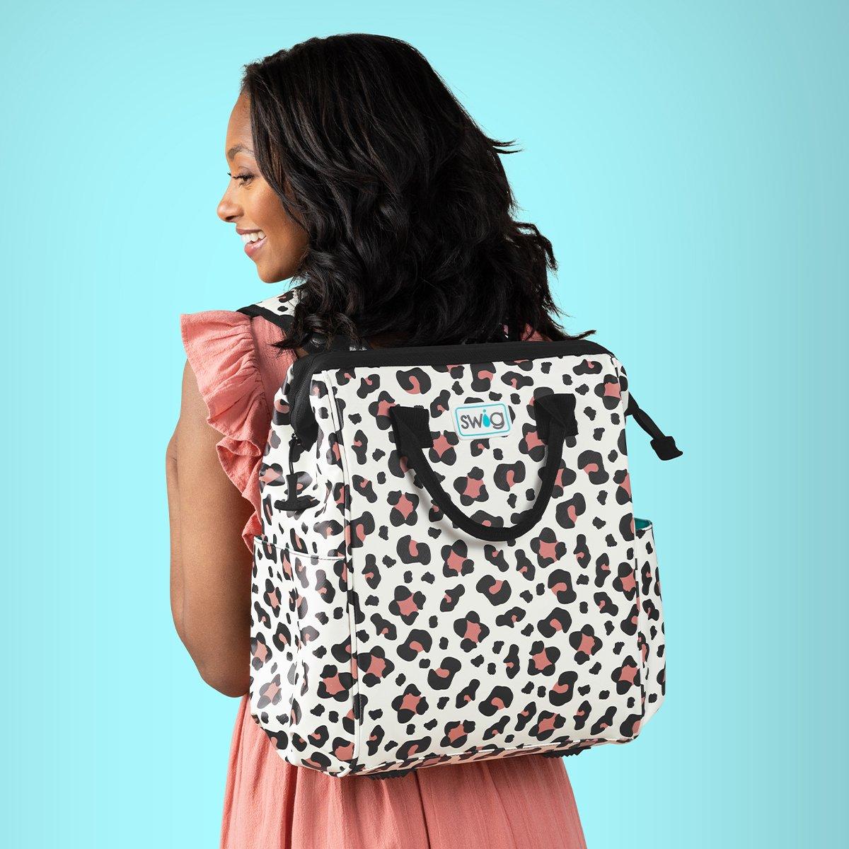 PRE ORDER Leopard Swig Backpack Cooler