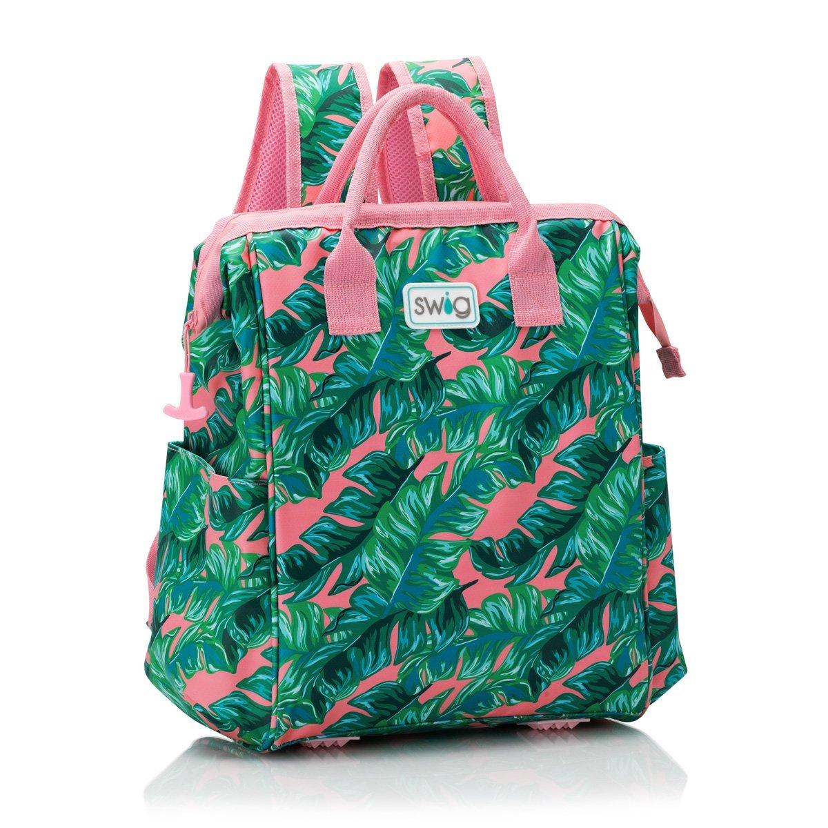 Palm Swig Backpack Cooler