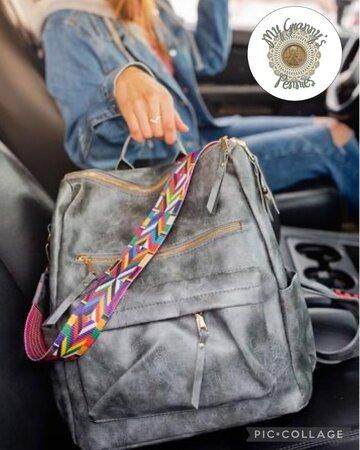 Lydia Convertible Backpack