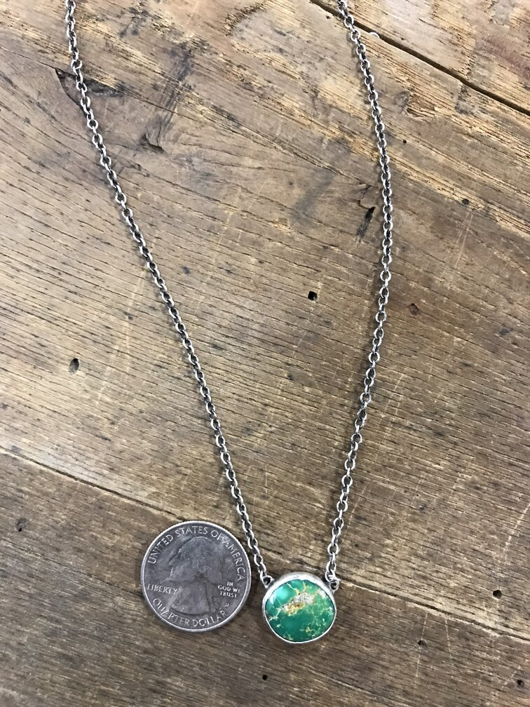 Love Tokens Sonoran Gold Turquoise Choker