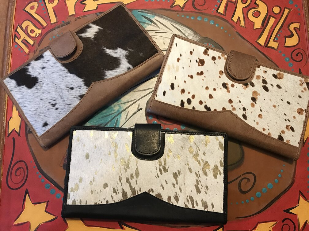 Brilyn Wallet Cow Prints