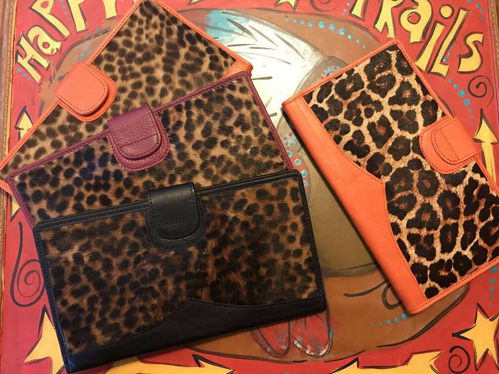 Brilyn Wallet Leopard Print