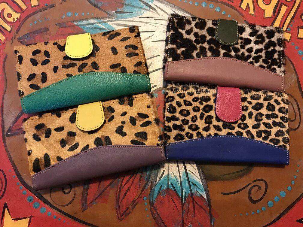 Lyndrie Wallet Leopard Hide